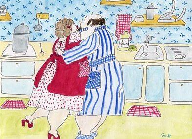Pepe y Lola Bailando un Bolero