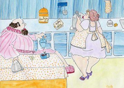 Pepe y Lola en la Cocina
